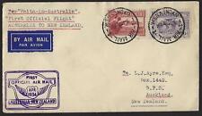 Australia 1934 Per Faith In Australia First Flight Australia New Zealand Officia