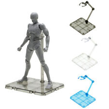Clear Action Figure Holder Display Stand Base for HG RG SHF Gundam Model Toy USA
