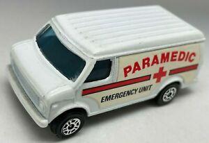 Corgi Juniors US Chevy Van - Paramedic Emergency Unit - VNM