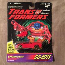 Optimus Prime Sealed MISB MOSC Go-Bots G2 Transformers Autobots Moc