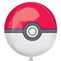 40.6cm Pokemon Pokeball Children's Birthday Party Orb Globe Foil Balloon