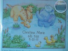 Dimensions Little Pond Baby Birth Record Counted Cross Stitch Kit