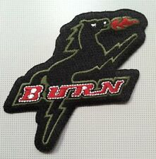 "Dallas Burn MLS soccer patch  3.25"" heat-seal backing"