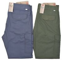 Levis 502 Men's $69.50 Ripstop Taper Cargo Stretch Pants Choose Color & Size
