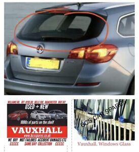 Vauxhall Astra J Estate. Back Window / Rear Screen Glass  Heated. 2009 - 2013.