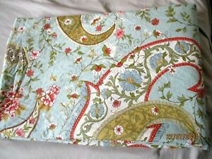 Full/ Queen Sized Duvet Cover Floral Pottery Barn