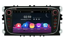 """RADIO DVD GPS LCD TÁCTIL 7"""" NEGRO FORD FOCUS MONDEO...ANDROID 8.1 OCTA CORE. 24H"""