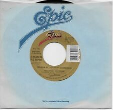 MICHAEL JACKSON ~ WANNA BE STARTIN' SOMETHIN' b/w (instrumental) 45rpm re, MINT-