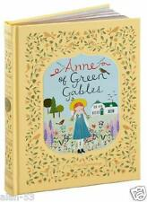 ANNE OF GREEN GABLES ~ L.M. MONTGOMERY ~ NEW LEATHER GIFT ED ~ BEAUTIFUL ILLUS