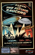 Earth vs the Flying Saucers UFO w/Light Silver Edition Atlantis Toy and Hobby