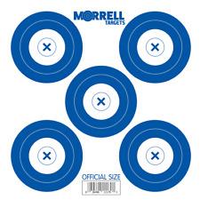 New Morrell 5 Spot Paper Target Face 100 Pack