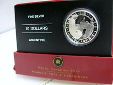 2006 $10 FINE SILVER 99.99% FORTRESS OF LOUISBOURG NATIONAL HISTORIC SITE