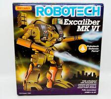 1985 ROBOTECH EXCALIBER MK VI TRANSFORMER ROBOT TOY MIB
