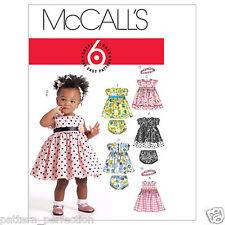 McCall's 5791 Toddler Dress Pants Headband Sewing Pattern S-XL (6-24 months)