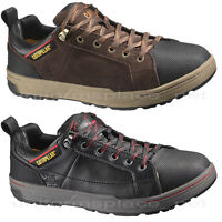 Caterpillar Shoes Men's Brode Skate Shoe, Sneakers Leather Slip Resistant