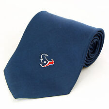 Houston Texans Mens Silk Necktie NFL Football Team Sports Fan Blue Neck Tie