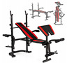 Folding Weight Bench New. Muscle Training and Healthy Life!Biceps +Training Plan