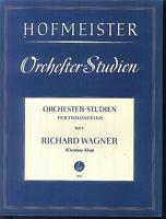 """HOFMEISTER - Orchesterstudien für Cello Heft 9 """" RICHARD WAGNER """""""