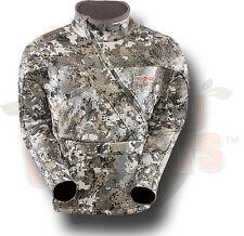 Sitka Gear Fanatic Lite Hunting Jacket Optifade Elevated II Camo XL 50096-EV-XL