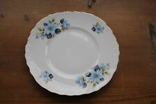 Queen Anne 8301 Blue climbing Rose cake plate