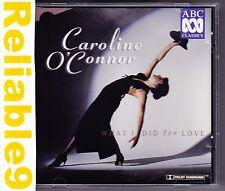 Caroline O'Connor - What i did for love CD 16 tracks -1996 ABC Made in Australia