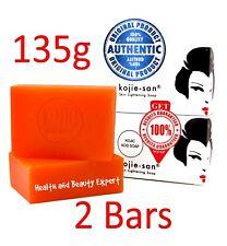 135g X2 Genuine Kojie San Kojic Acid Soap Bars Skin Lightening Whitening Acne