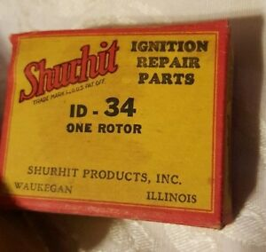 Vintage Auto Shurhit ID34 Rotor Part