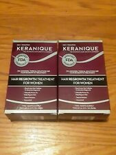 Keranique Hair Regrowth Treatment 4 Month Supply 2% Minoxidil Exp 3/19 Sealed