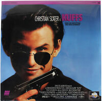 KUFFS LASERDISC Sealed NEW 90s Christian Slater Action Comedy LD Movie 1992