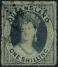 Queensland 1860 Königin Viktoria, MiNr 11, gestempelt, used