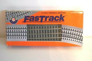 Lionel O FASTRACK Terminal Section #6-12016 Train NEW!!