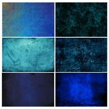 Blue Gradient Texture Studio Photography Background Vinyl Photo Backdrops Props