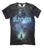 The Guyver t-shirt Japanese anime 強殖装甲ガイバ tee print long-running manga