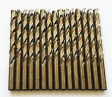 15 Craftsman 1132 Cobalt High Speed Steel Drill Bits Split Point Metal