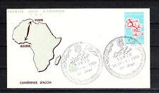Amt/  Tunisie  enveloppe   1er jour   journée de la liberté en Afrique  1959