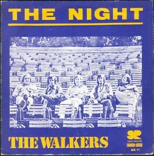 THE WALKERS THE NIGHT / SOUL FUNK 45T SP SOUL RECORD SR 11 DISQUE NEUF / MINT