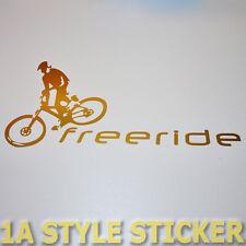 Mtb Aufkleber FREERIDE Sticker MTB Fully Dämpfer GABEL MTB SINGLESPEED KETTE