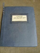 SINGER 114-32 & 114-35 sewing machine service manual - photocopy