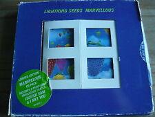 LIGHTNING SEEDS - MARVELLOUS (4 TRK CD SINGLE) (REF C9)