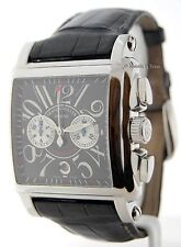 Franck Muller Cortez Conquistador Chronograph Steel Watch Box/Papers 10000 H CC