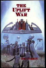 Fiction: THE UPLIFT WAR by David Brin. Limited, signed 1st edition.