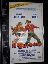 ★ Manifesto Locandina IL BURBERO ADRIANO CELENTANO Poster Playbill ★