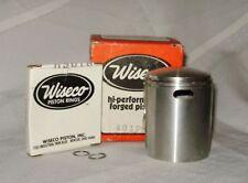 WISECO BULTACO 125 '76 PISTON KIT 52.5mm NEW NOS 401P4 Piston, rings & circlips