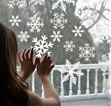 27pcs WhiteSnowflakeSticker Glass Window Kids Room Home Christmas Decoration