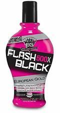 European Gold Flash Black 500X Ultra Dark Indoor Tanning Lotion, 12 fl oz