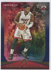 New listing 2017-18 Ascension BLUE #78 Hassan Whiteside - Miami Heat ##/125