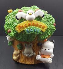Hello Kitty Vintage Sanrio Pochacco & Friends Ceramic Coin Piggy Bank