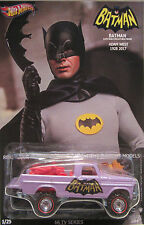 Hot Wheels CUSTOM TEXAS DRIVE 'EM Batman-Adam West Tribute Real Riders 1/25 Made