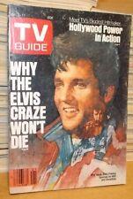 TV Guide - Jan 5-11 1985 Elvis Presley Cover Why The Craze Wont Die Daisy Duke