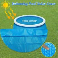 6/8/10ft Round Swimming Paddling Pool Cover Inflatable Rope Easy Set Fast L2F6